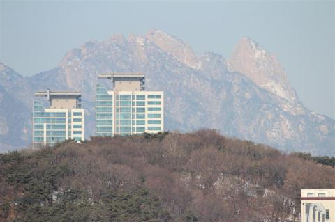 A view of Bukhansan