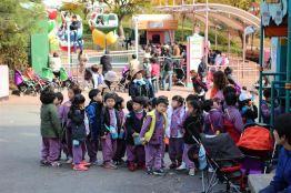 Korean kids on their field trip