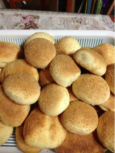 Pandesal... great with pancit!