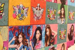 Girls Generation Pop-up Room