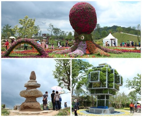 Garden for kids, rock garden and corporate garden