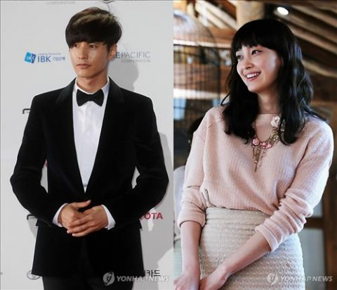New couple? Won Bin and Lee Na Young