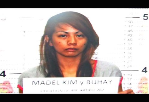 Mugshot of Mabel Kim from the Philippine Star