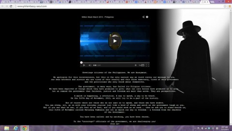 Philippine Embassy in Seoul website ~ defaced!