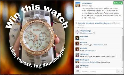 Win this XOXO watch!