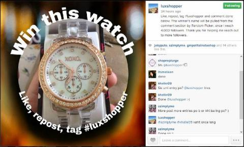 Win this XOXO watch!