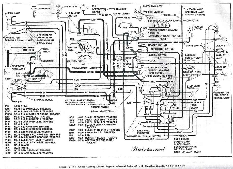 wiring_1950?resize\\\\\\\=665%2C484 s i2 wp com www buicks net years 50 wiring_1 1998 buick lesabre wiring diagram free at reclaimingppi.co