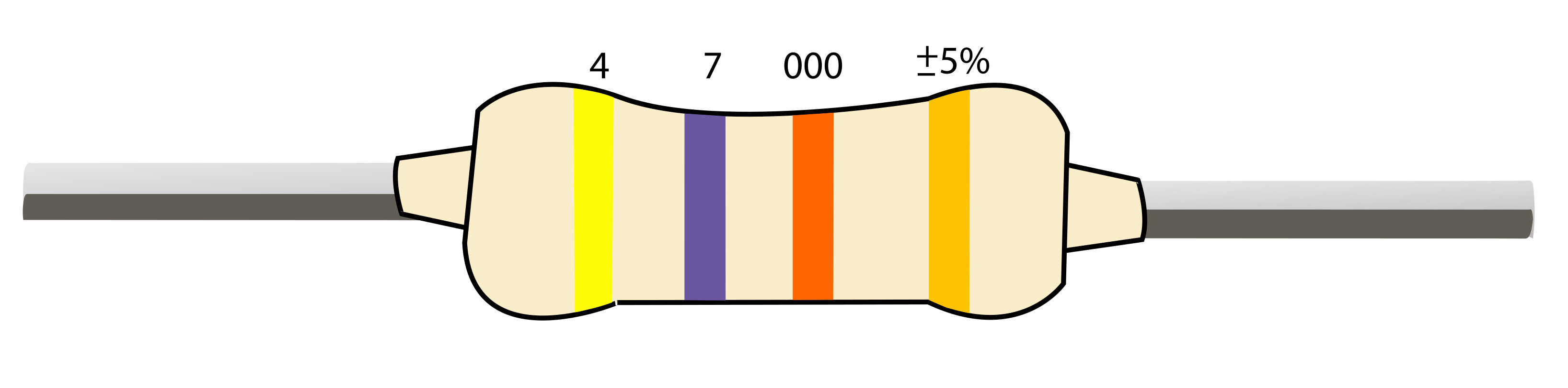 Resistor Color Codes Finding Resistor Values