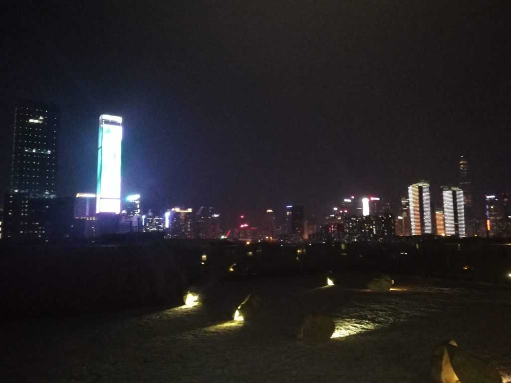 View of the Shenzhen skyline