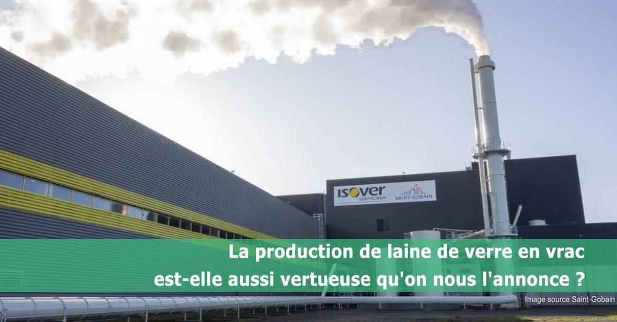 la production de laine de verre en vrac