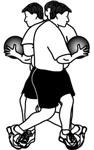 Medicine Ball Exercises: Standing Oblique Twists