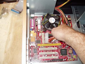 Installing A Power Supply