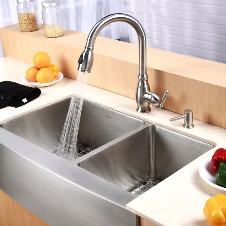Kraus Khf203 Kitchen Sink Build