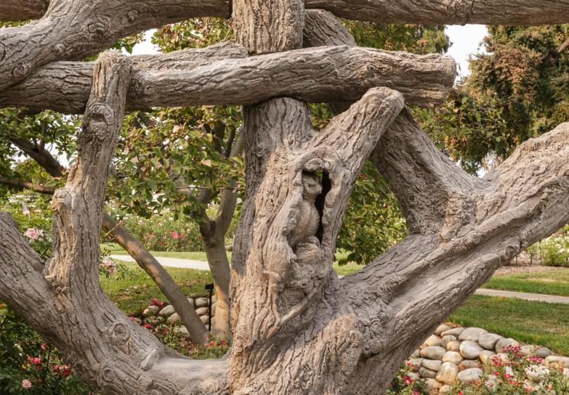 Faux Bois Tree Huntington Gardens