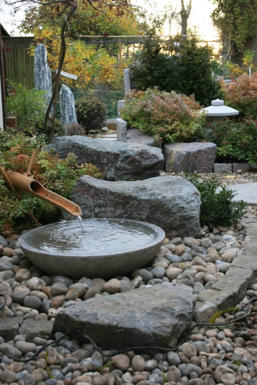 Raised Japanese Garden