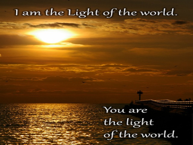 The Light of God Shines Through Us When We Create