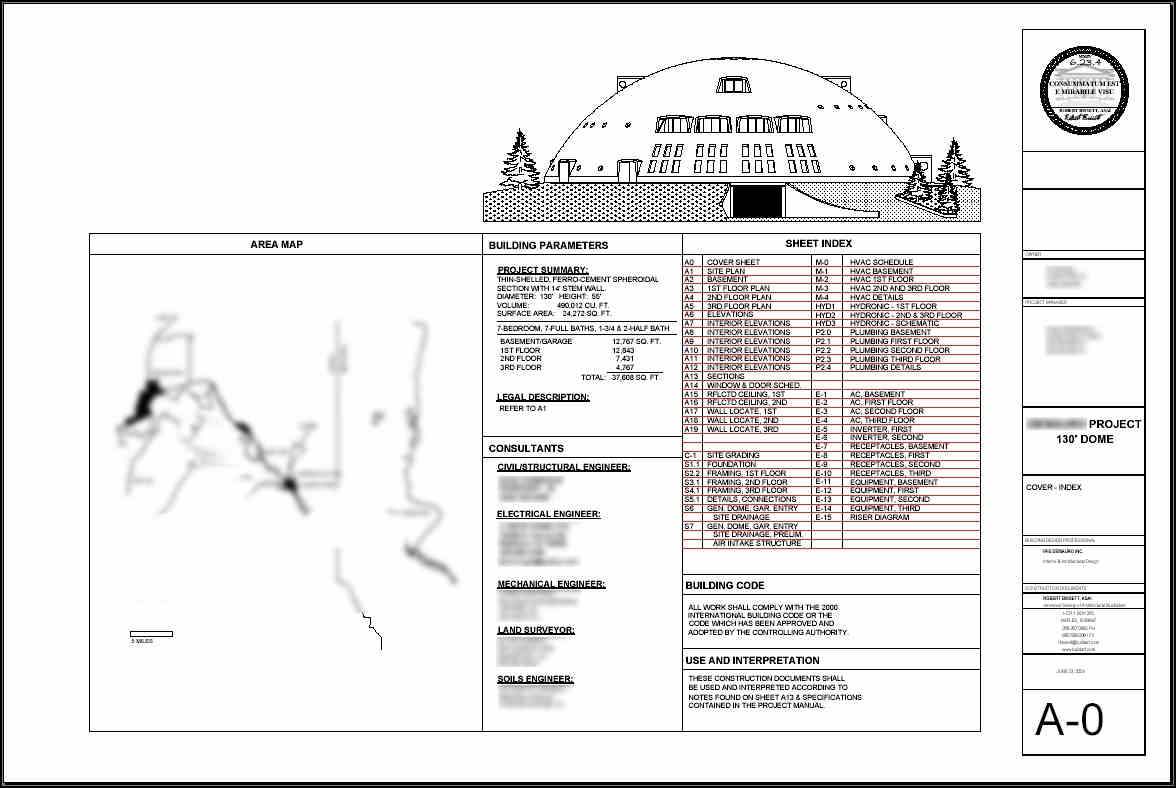 Monolithic Dome Design