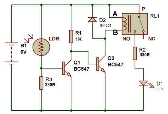 12v relay wiring diagram 6 pin wiring diagram 12v led flasher circuit diagram image about wiring 2 pole 8