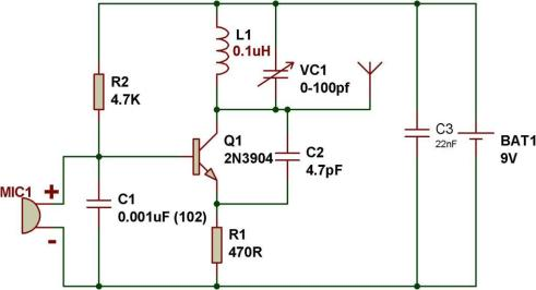 How to make an FM transmitter | BuildCircuit COM
