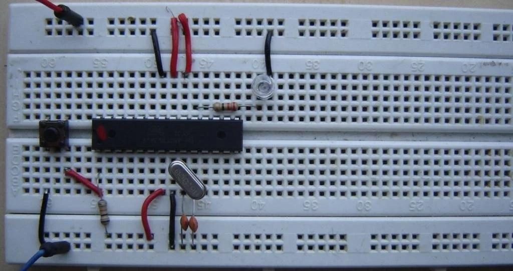 Blinker Using Arduino And Ne555 Timer Ic Build Circuit
