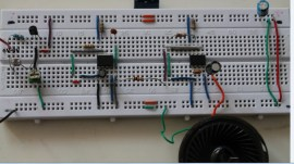 Light activated police siren using 555 timer and light dependent resistor(LDR)