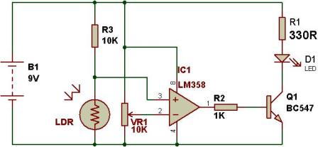 LDR-controlled-Automatic-light-with-LM358