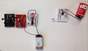 Up counter with multivibrator module