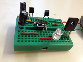 Melody generator using UM66