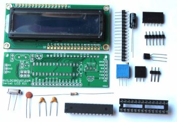 Serial LCD do-it-yourself(DIY) kit