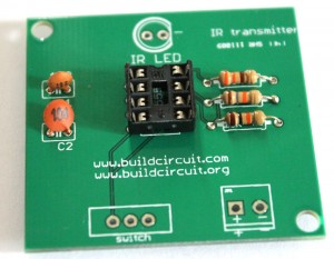 Solder 8 pin IC socket for NE555 timer