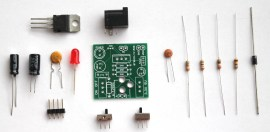 BuildCircuit's breadboard power supply DIY kit