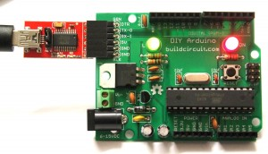 21- FTDI connection to Arduino and computer