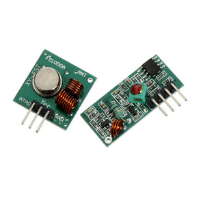How to use 315Mhz RF transmitter and receiver modules with arduino