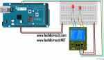 2 Channels Relay Test Using Arduino Mega and Ethernet Shield