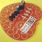 Step 4 Solder capacitors