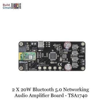 2 x 20W Bluetooth 5.0 Networking Audio Amplifier Board - TSA1740