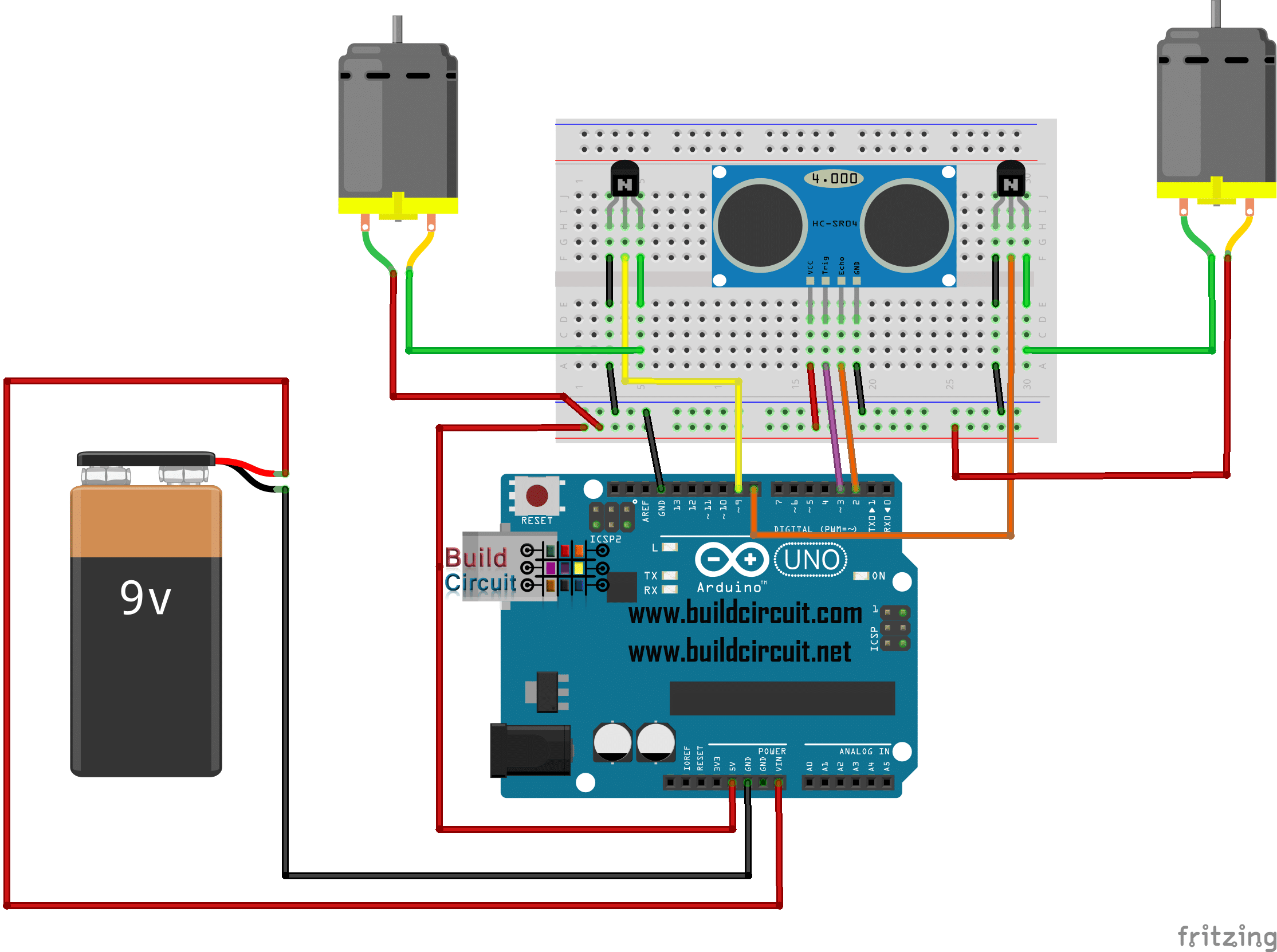 Wiring Diagram For Arduino Robot Kit Updated - Wiring Diagram Content