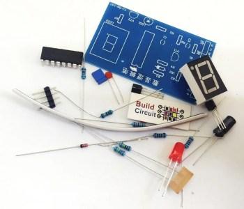 DIY KIT 23- CD4511 based seven segment display kit