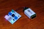 Light sensor using Amarino Plugin