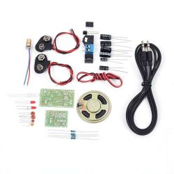 DIY KIT 39- Laser operated wireless audio transmitter and receiver