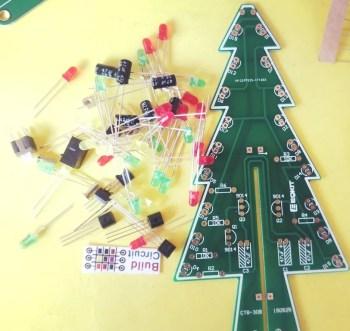 DIY KIT 28- Multiple LED Christmas Tree 3D kit