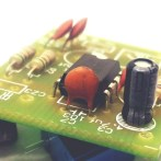 Step 5 Solder the chip and the electrolytic 4