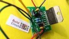Step 6 Solder Amplifier chip