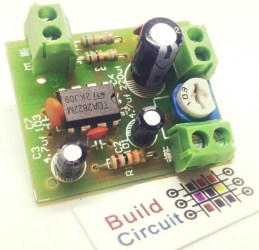 DIY KIT 55- TDA2282 based audio amplifier DIY kit