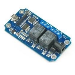 TOSR02 - 2 Channel USB/Wireless Relay Module