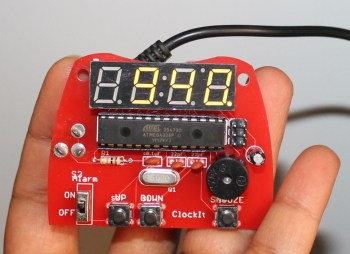 DIY KIT 64- ClockIt digital clock DIY kit using Arduino