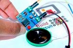DIY KIT 65- NE555 based sound generator DIY kit with a photoresistor