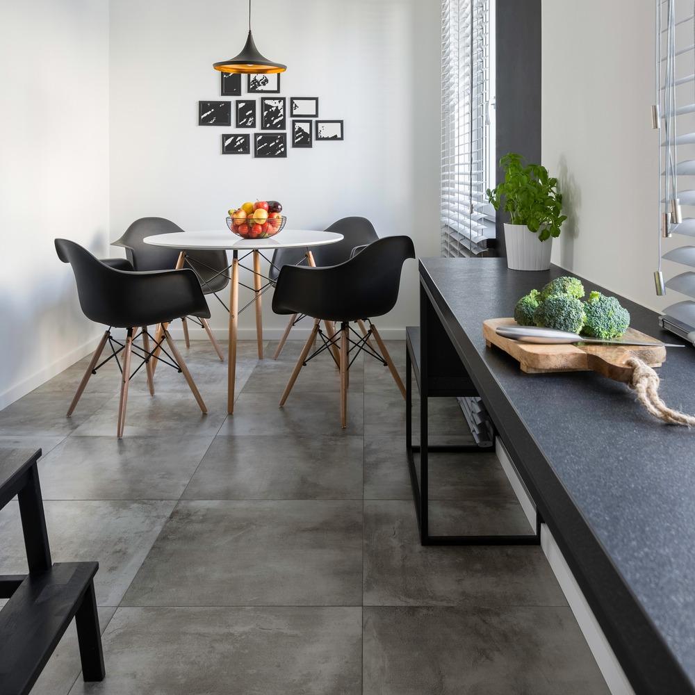 gray flooring ideas for a modern