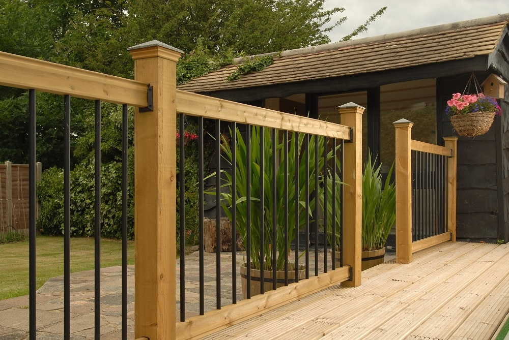 How To Install Deck Railings And Balusters Yourself Learning | Installing Metal Balusters Wood Railing | Stair Treads | Deck Railing | Iron Baluster | Iron Stair Spindles | Stair Rail
