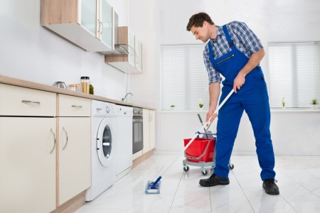 How to Clean Kitchen Floors